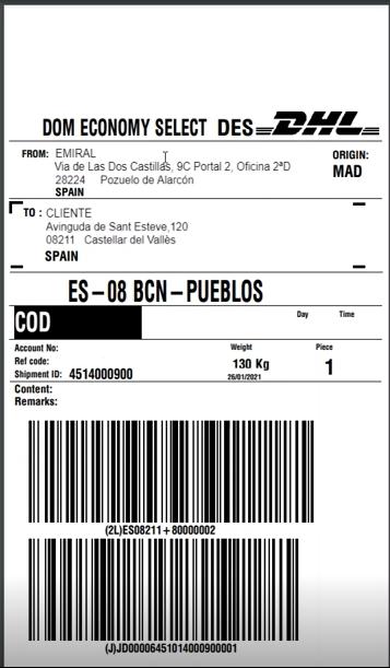 ejemplo etiqueta creada para operador logistico con sage x3